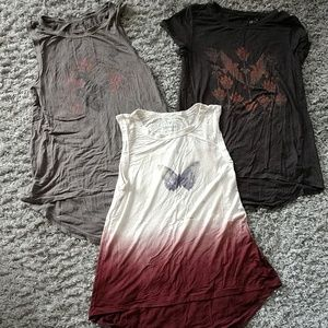 Bundle of 3 American Eagle soft & sexy tops